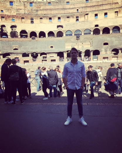 In het Colosseum!