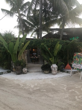 De ingang van Luuma.