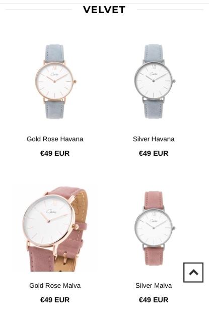 Velvet horloges, wij zijn fan!