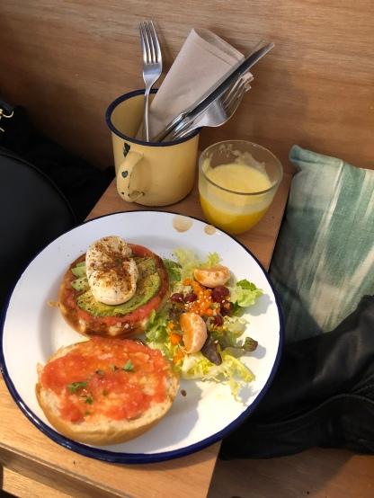 Een heerlijk ontbijtje bij La Molienda.