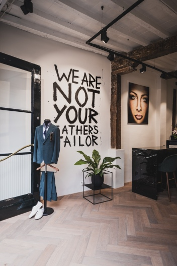 We are not your fathers tailor.