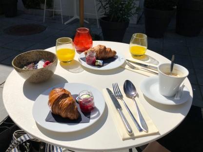 Heerlijk ontbijt.